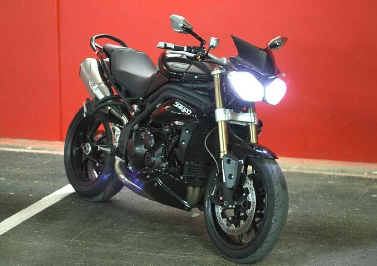Ampoules Xenon sur moto